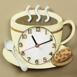 Kahve-fincanlı-Duvar-Saati-Modeli