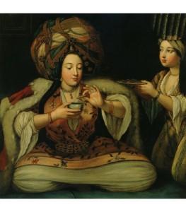 kahve-keyfi-oryantalizm-tablo