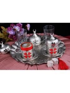 osmanli-motifli-yonca-desenli-kirmizi-porselenli-oval-tepsili-2-kisilik-kahve-fincani-seti-gumus-300x400
